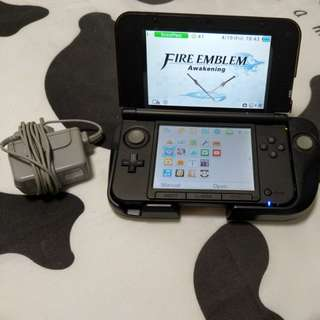 Nintendo 3DS XL with gamepad addon and fire emblem awakening gm