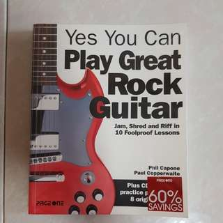 Play great rock guitar with CD