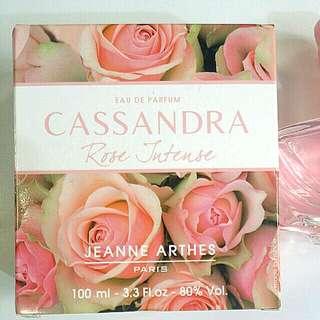Cassandra rose intense eau de parfum