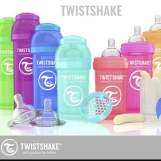 TWISTSHAKE Anti-Colic All in One Feeding Bottle (New stocks available)
