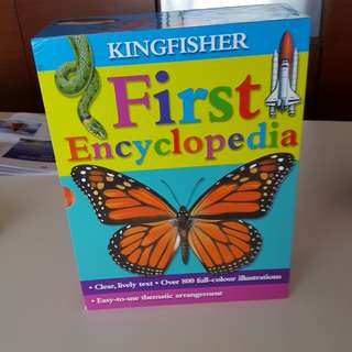 King Fisher - FIRST ENCYCLOPEDIA (10 books in a set)