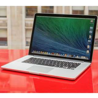 Selling MacBook Pro (Retina, 15-inch, Mid 2014)