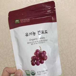 獲美國USDA及韓國農業部有機農產品認證 - 幼兒🍇提子乾