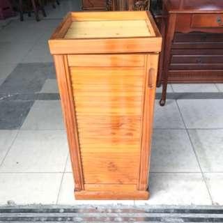 木紋色實木收納櫃 拉門 四方 魚缸櫃 花架 鞋櫃 置物櫃 櫥櫃 書櫃 電視櫃 穿鞋椅A1212