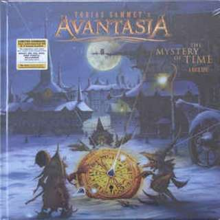 Tobias Sammet's Avantasia ‎– The Mystery Of Time (A Rock Epic) Ltd Edn Hardcover Ear Book