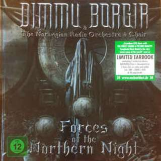 Dimmu Borgir ‎– Forces Of The Northern Night 2 Bluray+ 2 DVD+ 4 CDs