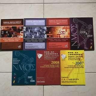 Primary 5 Maths Olympiad books