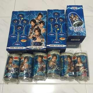 Pepsi Idol F4 And Misc Merchandise