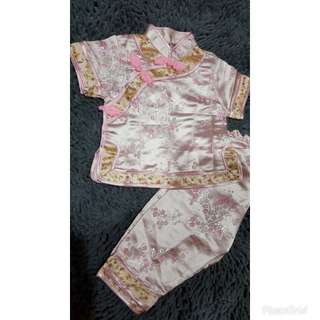 cheongsam 2 piece set