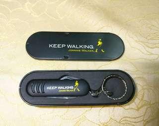 Johnnie walker 萬用刀鎖匙扣