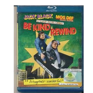 Be Kind Rewind (Jack Black) Blu-Ray
