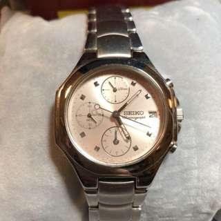🚚 (二手)SEIKO 精工錶優雅都會女錶玫瑰金