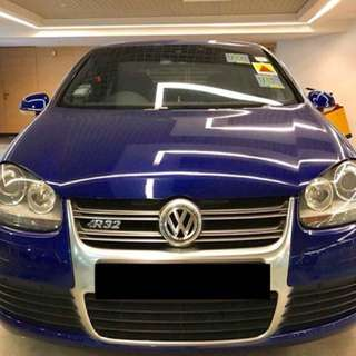 Volwagen Golf R32 3200cc turbo engine