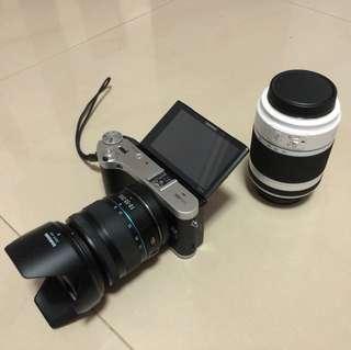 Samsung nx300m dual lens