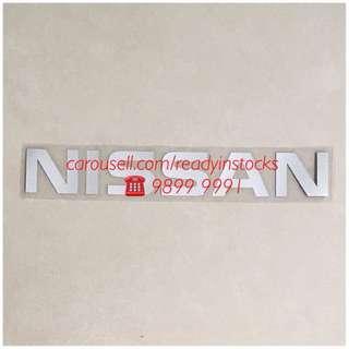 Nissan NV200 - Nissan NV350 - Universal NISSAN Sticker