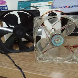 Spare 120mm computer fans