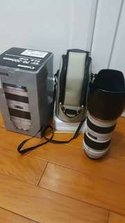 Canon 70 200 mm f 2.8(99% new)
