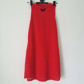 NICHII - Red Dress (Cheongsam Inspired)