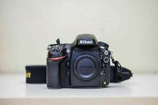 Nikon D800 full frame