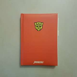 Super Hero Note Book - Free Postal Delivery