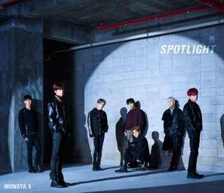 MONSTA X - SPOTLIGHT Japanese 3rd ALBUM RELEASE