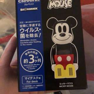 Cleverin X Be@rbrick X Mickey Mouse 空氣除菌