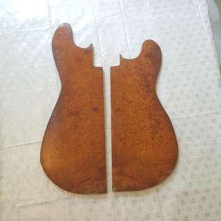 burl blank Amboyna Amboina guitar top