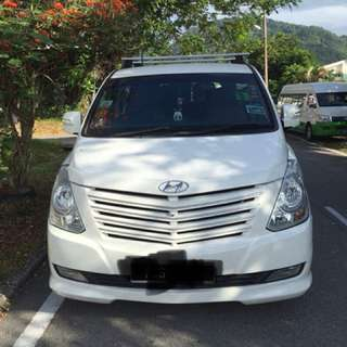 Starex (Hyundai)2010 2.5(A) Accident free,Weekend car,12seater,low mileage 40K only