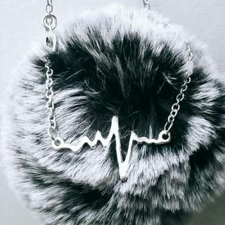 Heartbeat necklace #20under