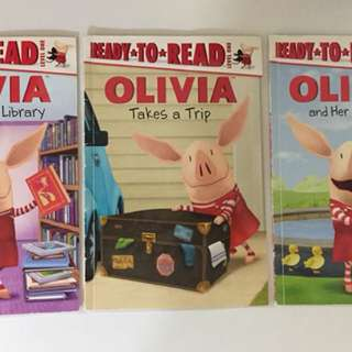 Children book - Olivia