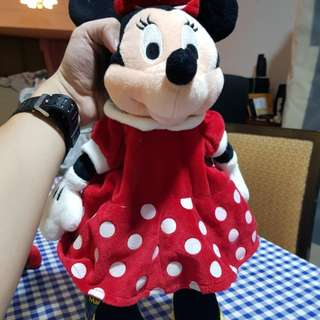 Minnie Mouse - Original Disney Softtoy (Small Backpack)