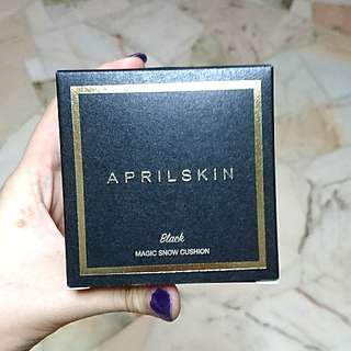 BNIB Authentic Aprilskin Magic Snow Cushion