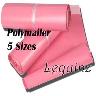 Poly mailer Bags Matt Pink 5 Sizes !
