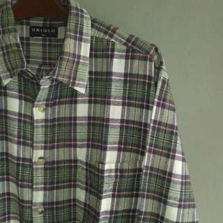 Flannel uniqlo original