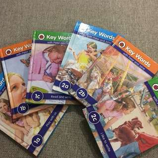 Keywords with Peter and Jane 1a,b,c 2a,b,c