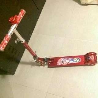 兒童scooter滑板車