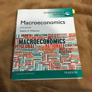 Macroeconomics (5th Edition) Stephen D. Williamson