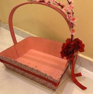 Hamper Wooden Basket
