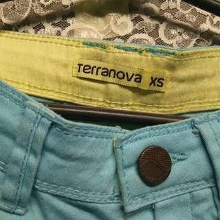 TERRANOVA Colored Shorts (Blue & Yellow)
