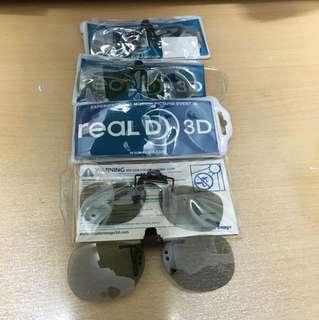 3D眼鏡 (專為戴眼鏡人士)