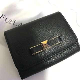 Furla leather card holder wallet