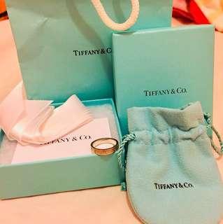 Tiffany&co.  羅馬數字 戒指ring size6