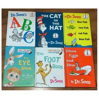 Dr. Seuss children story book