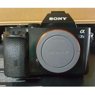 Used: Sony A7S full frame E-mount mirrorless camera