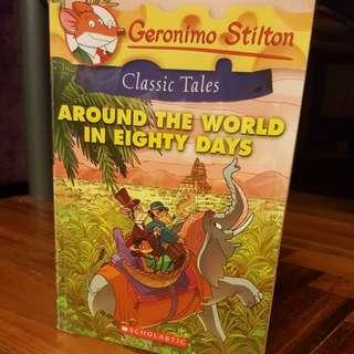 Geronimo Stilton -- Classic Tales//Around The World In Eighty Days