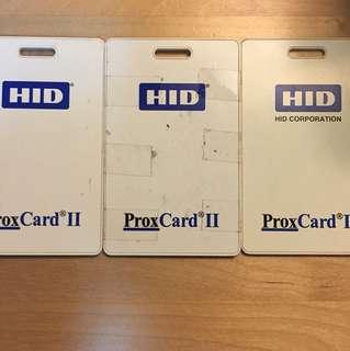 HID Prox Card x3 PCS
