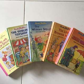 clearance of hardcover Enid Blyton books