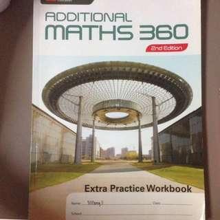 Additional Mathematics 360 WORKBOOK