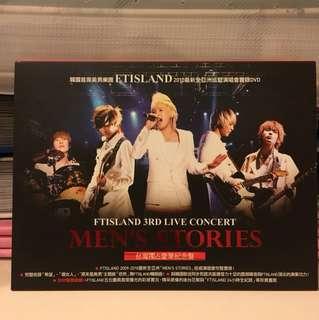 FTISLAND 3rd Live Concert - Men's Stories DVD