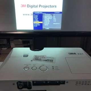 3M x21 投影機